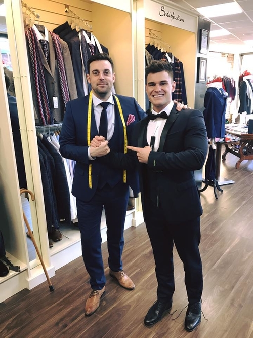 Men's Tailored Suits Dublin | Grooms wear Supplier Dublin