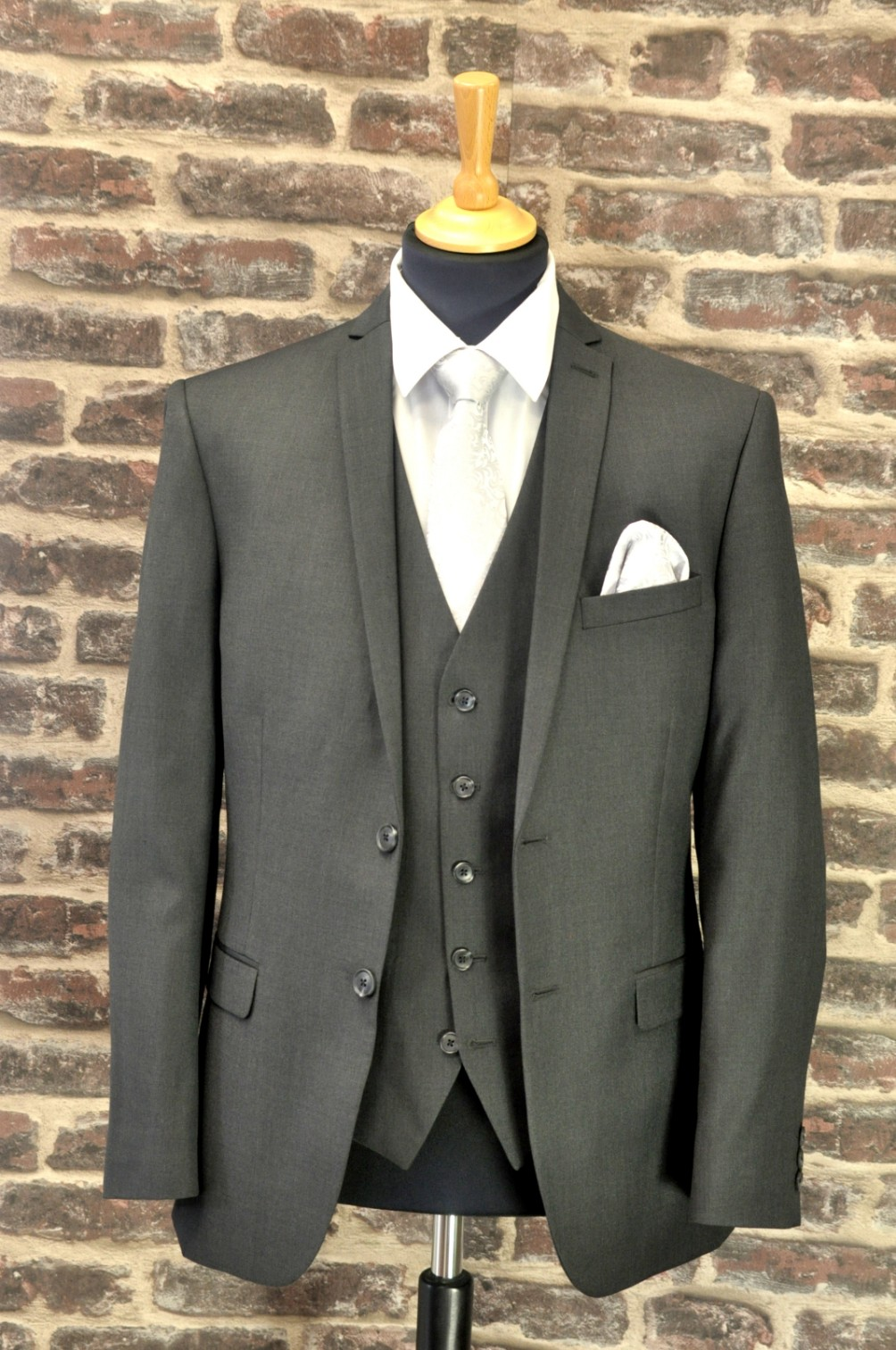 Collar & Cuff Grey Mix n Match Suit