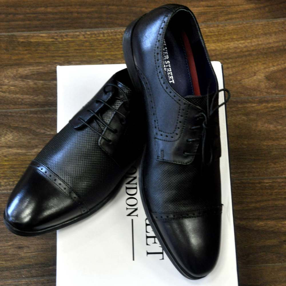 Black Garrick Shoe