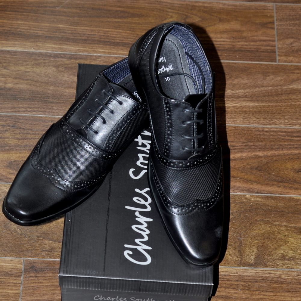 Black Kensington Shoe