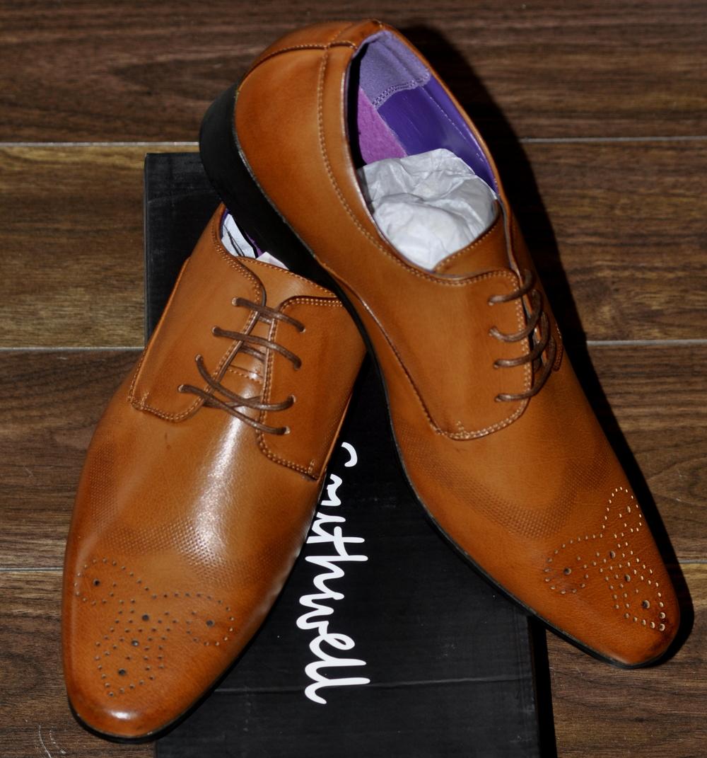 Tan Crompton Shoe